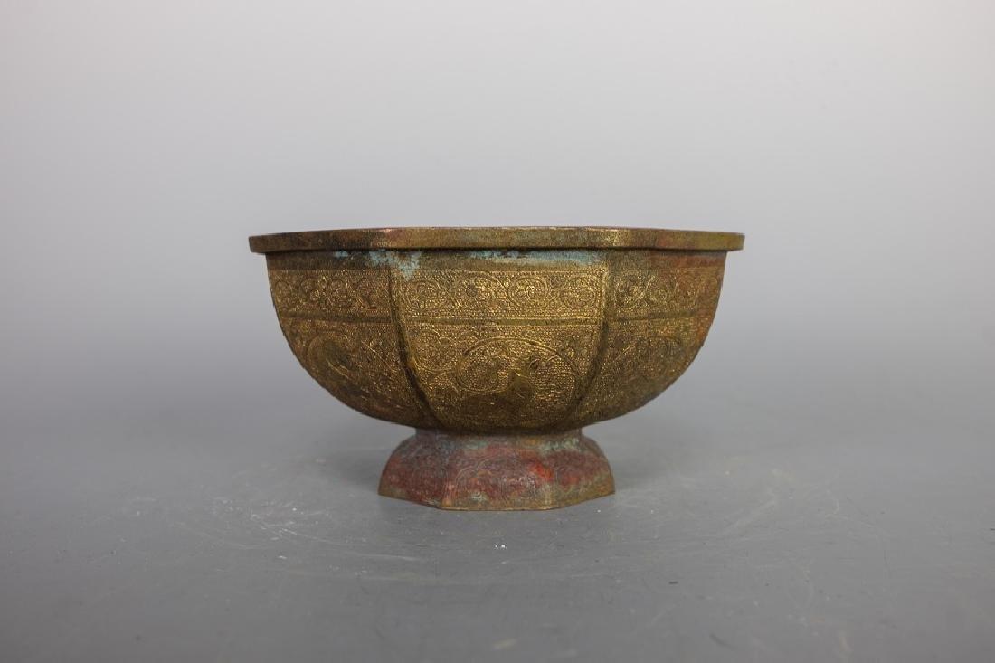 A Ancient Carved design Bronze