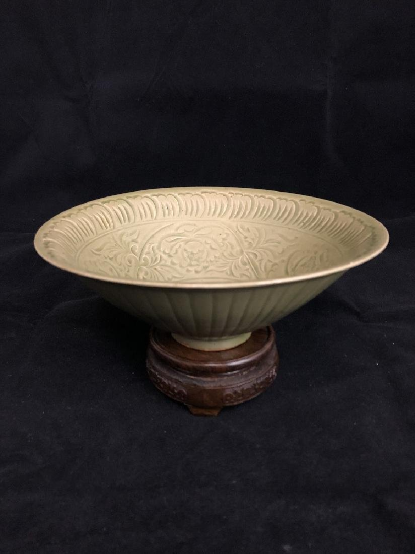 Song Yao Zhou Carved Bowl