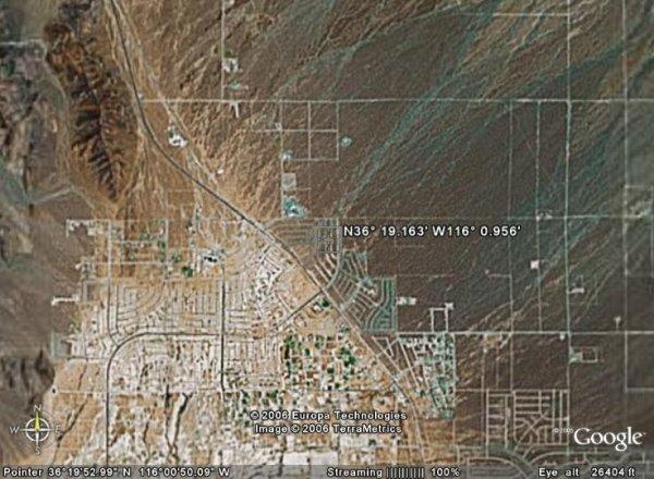 2004: NEVADA LAND, NYE, 8,800 SQ FT, PAHRUMP - CASH