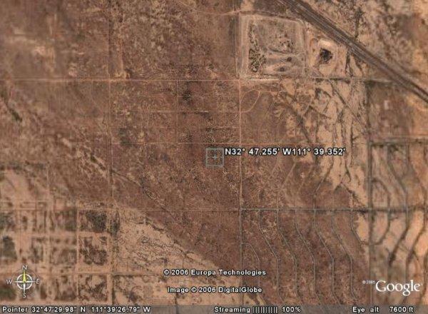 2009: ARIZONA LAND, PINAL, 14,002 SQ FT, ELOY - CASH