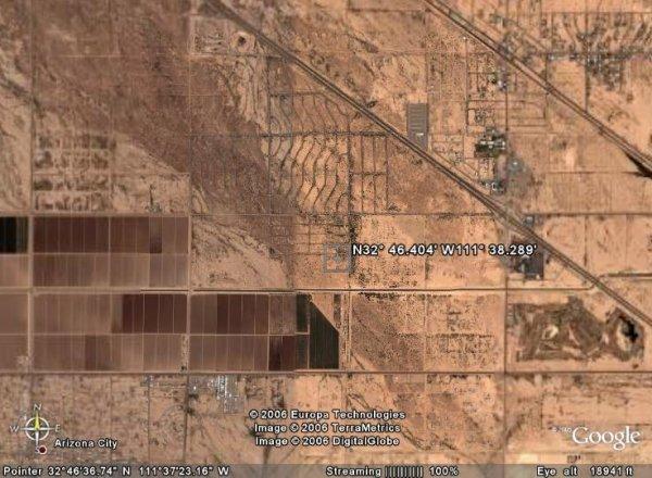 2021: ARIZONA LAND, PINAL .35AC TOLTEC VLLEY,$211.56/MO