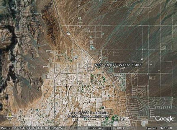 2043: NEVADA LAND, NYE, 19,000 SQ FT, PAHRUMP - CASH