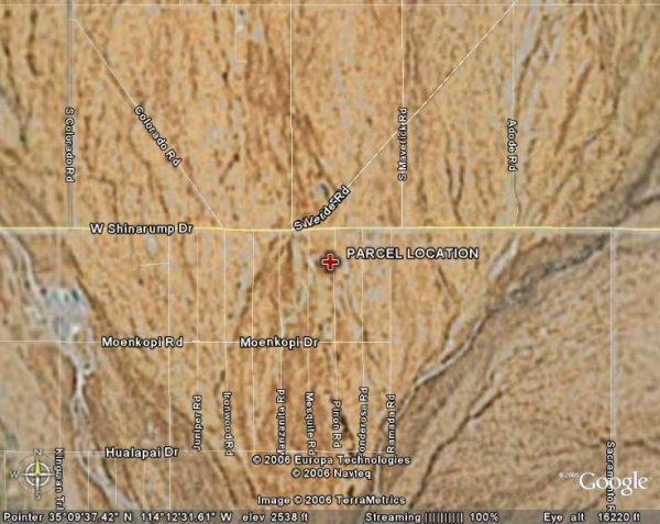 25: ARIZONA LAND, MOHAVE, 2.5 AC, KINGMAN , CASH