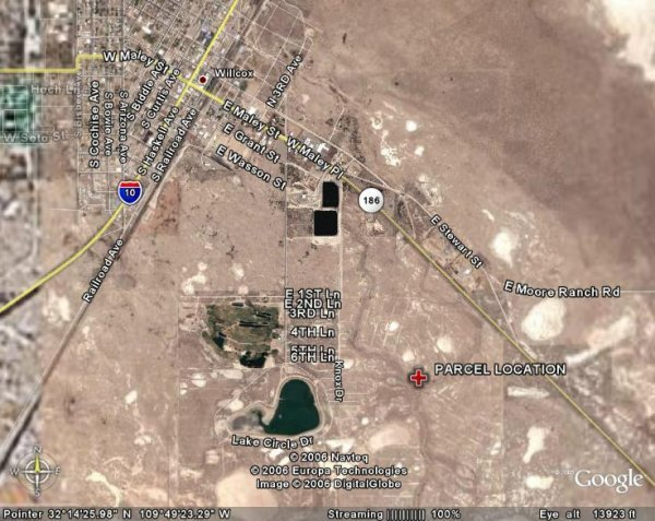 162: ARIZONA, COCHISE, 0.23 AC, COCHISE REC $139.40/MO