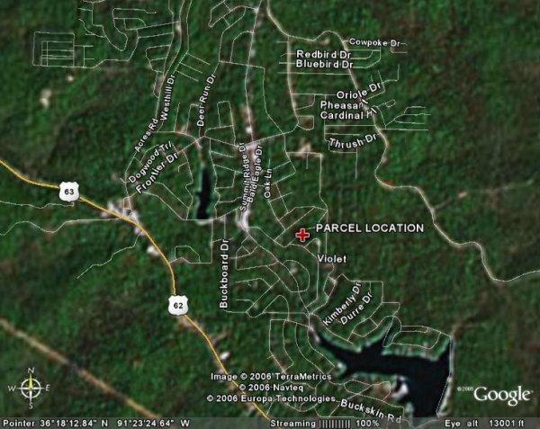 163: ARKANSAS LAND, SHARP, 0.2 AC, OZARK, $123.94/MO