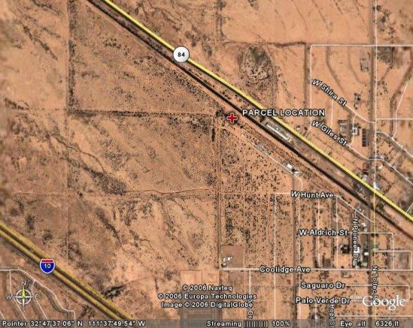 167: ARIZONA, PINAL, 0.40AC, TOLTEC AZ $178.49/MO