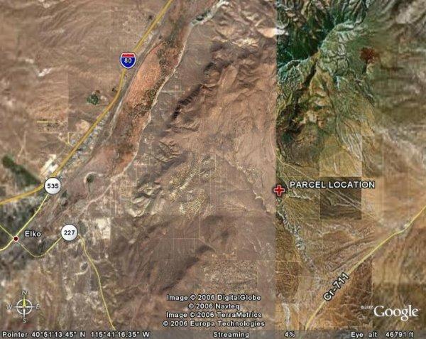 168: NEVADA LAND, ELKO, 0.96AC, LST CHC RNCH, $139.40/M