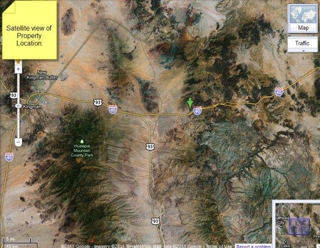 4902: Arizona Land, Kingman Area - 5AC, Cash or Terms