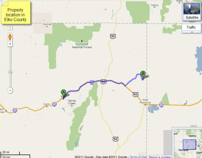 4903: Nevada Land, Wells Area - 10 AC, Cash or Terms