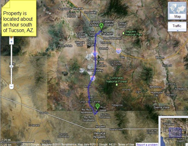 4908: Rio Rico Arizona, 0.95 AC, Santa Cruz County - Te