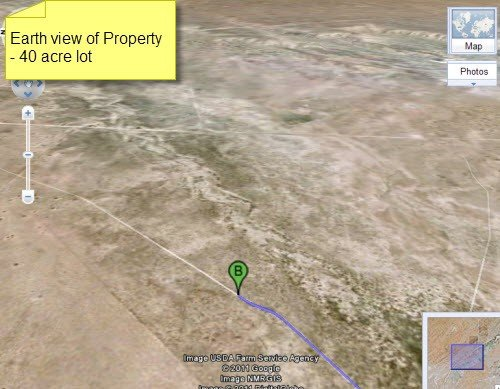 4913: Arizona Land, Town of Holbrook, 40 AC, Terms