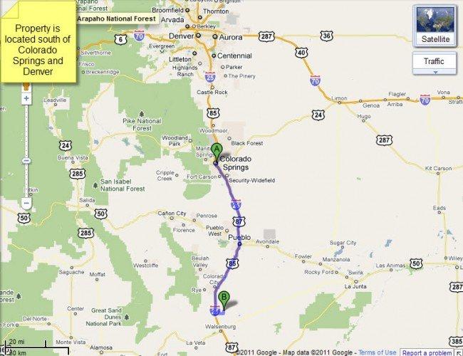 4918: 50 Acres In Huerfano Colorado, Terms
