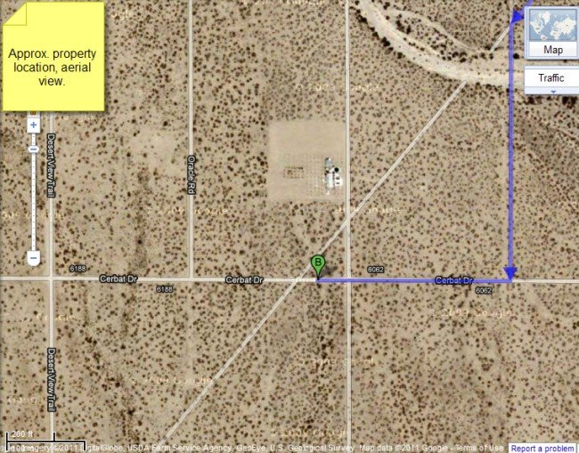 4922: Golden Valley Ranchos, 2.5 AC in Mohave County, A
