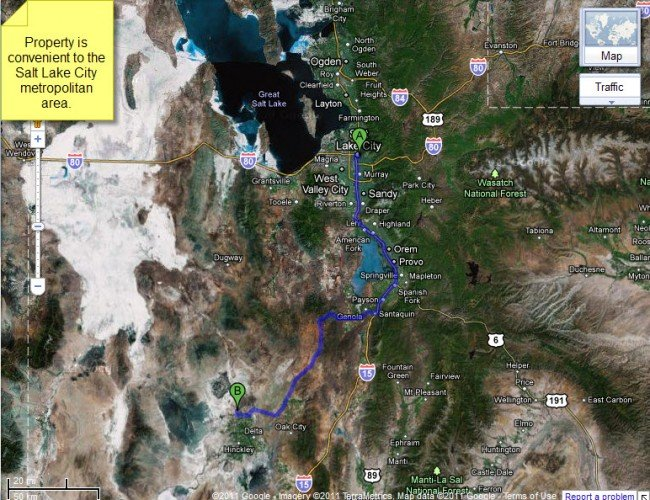 4947: Utah Land, Delta Area, 20 AC, Cash or Terms