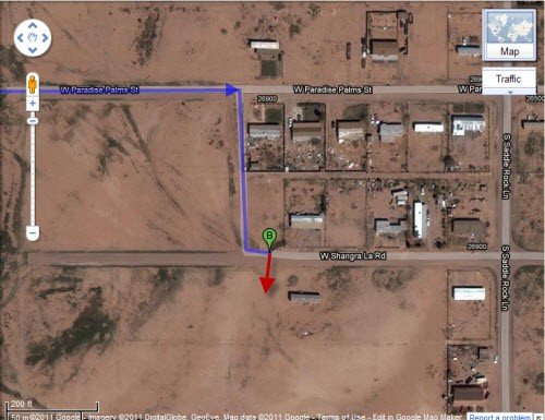 5206: 0.32 Acre Lot, Pinal County, AZ - Homes in the Ar
