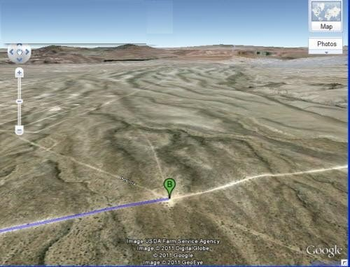 5215: 1.25 AC in Lake Mead City Sub., Mohave County, AZ