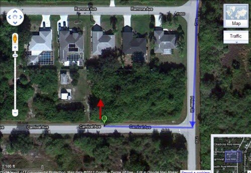 5225: Outside of Port Charlotte, 0.22 AC Lot in Florida