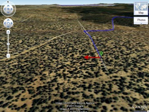 5318: Big 40.12 Acre Lot in Mohave County, Arizona