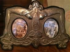 Rare Silver Erotic Photo Frame