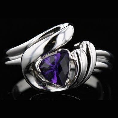14K White Gold 0.77CT Diamond Ring