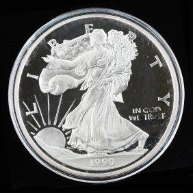 United State Of America Half Pound Fine Silver .999,