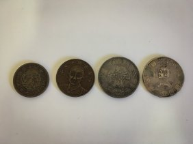 FOUR REPUBLIC OF CHINA COINS