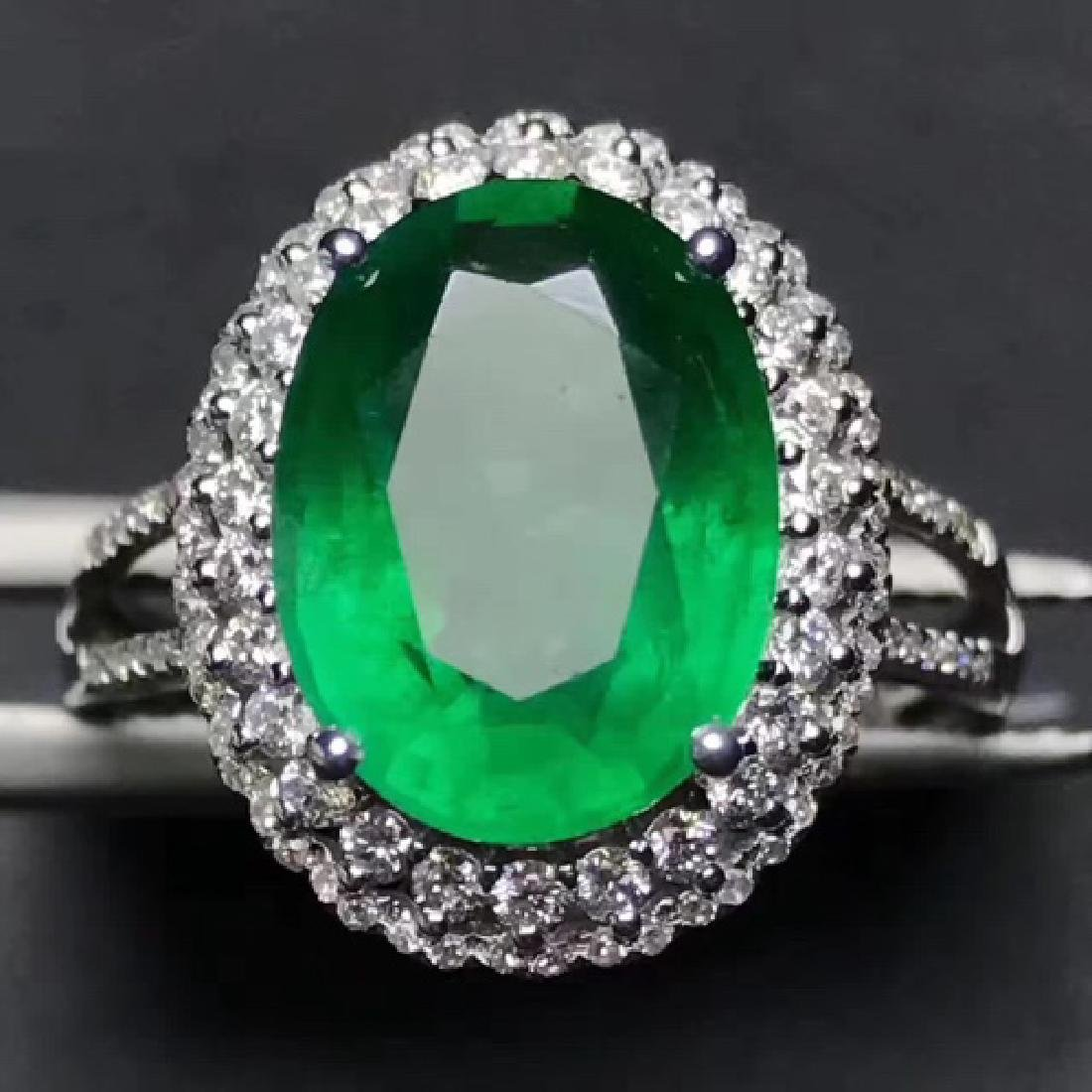 COLOMBIA EMERALD RING