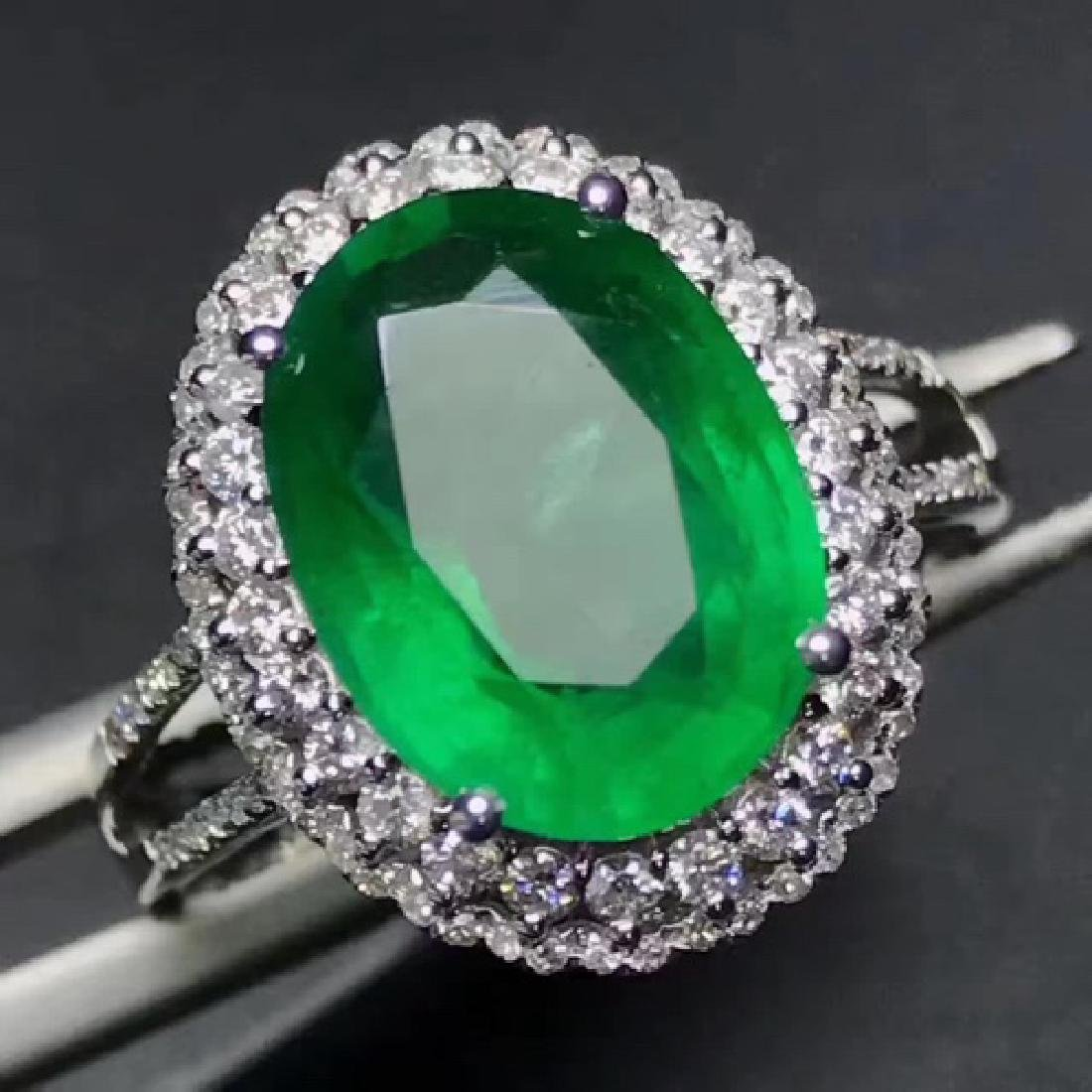 COLOMBIA EMERALD RING - 2