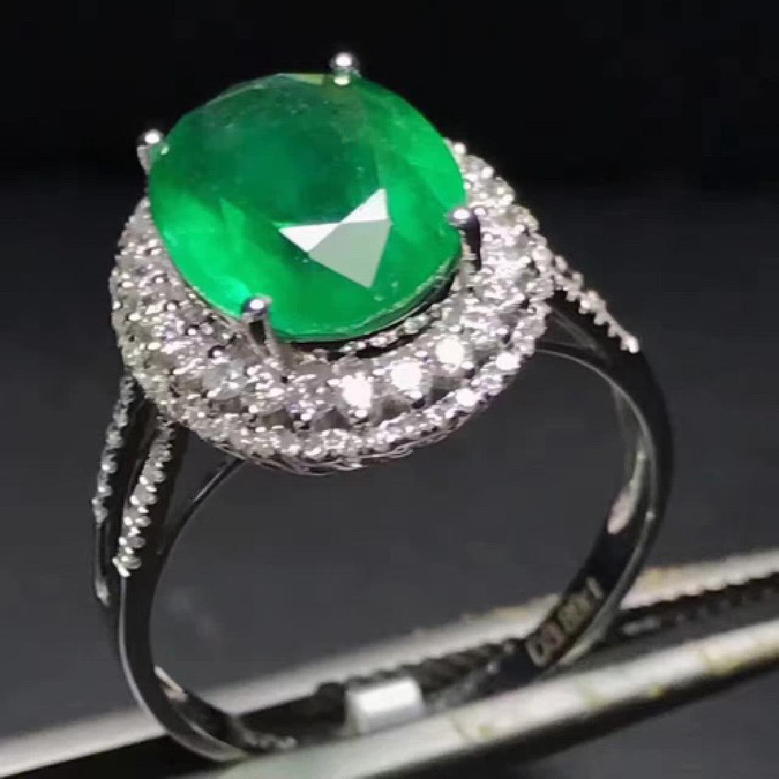 COLOMBIA EMERALD RING - 4