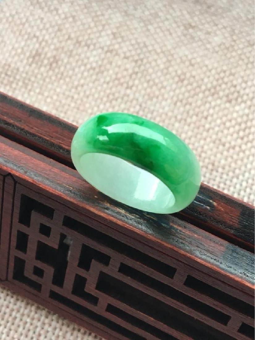 Natural ICY JADEITE RING