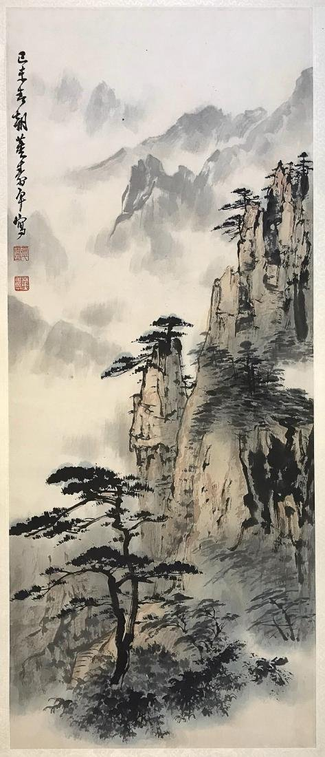 A DONG SHOU PING LANDSCAPE PAINTING - 2