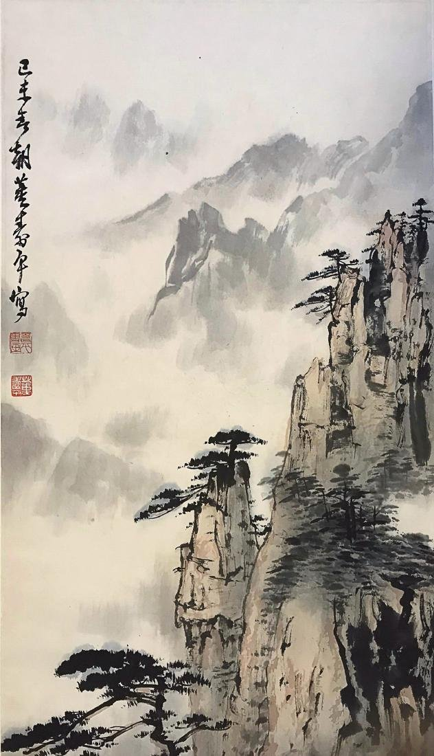 A DONG SHOU PING LANDSCAPE PAINTING - 3