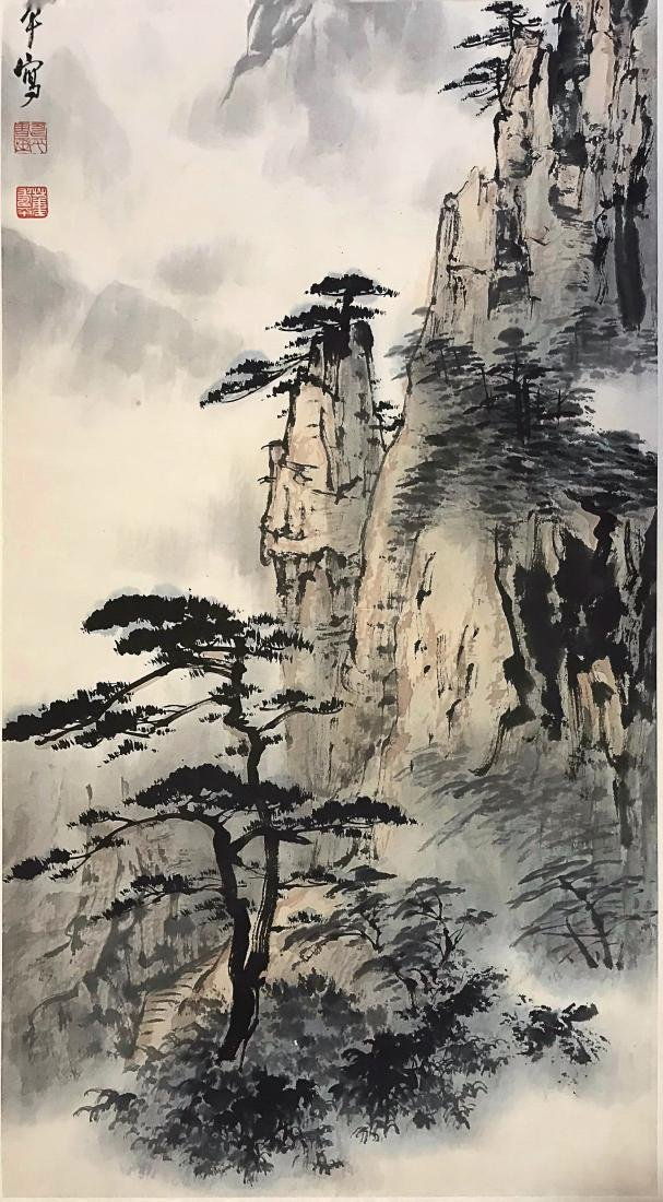 A DONG SHOU PING LANDSCAPE PAINTING - 4