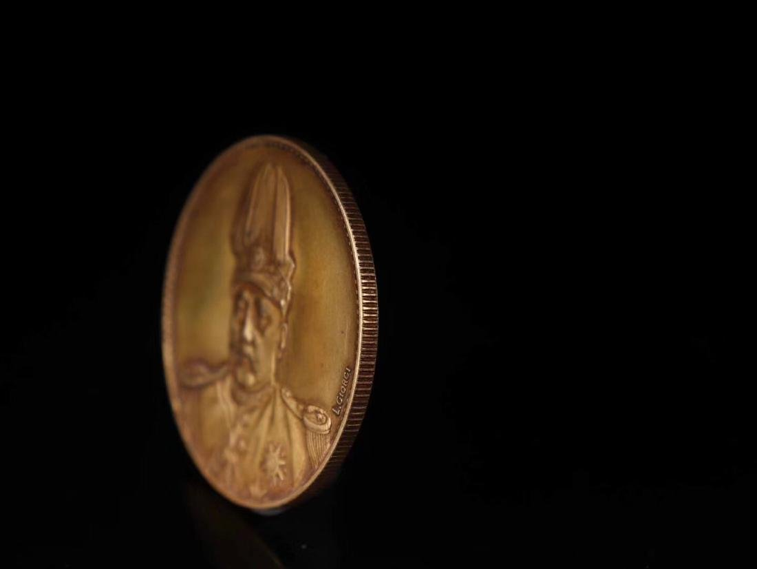 20TH CENTURY, A PURE GOLD COIN, EMPIRE OF CHINA - 4