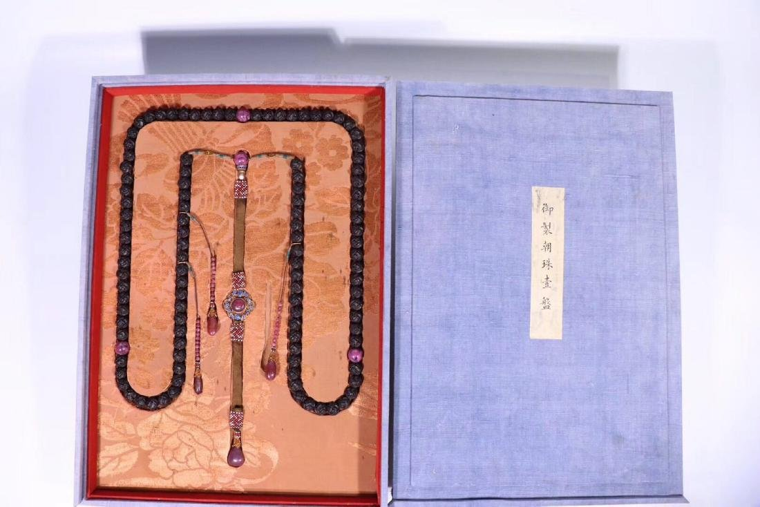 108 CHENXIANG BEADS STRING NECKLACE