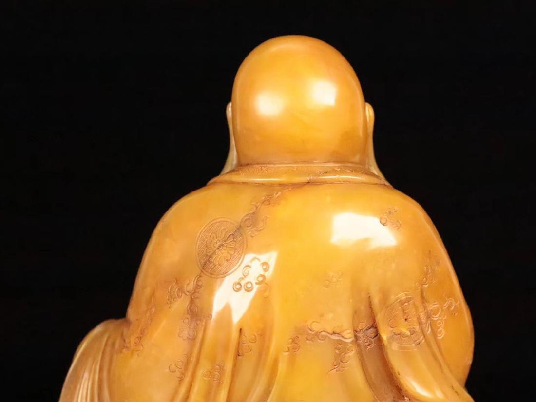 A TIANHUANG STONE BUDDHA PENDANT - 7