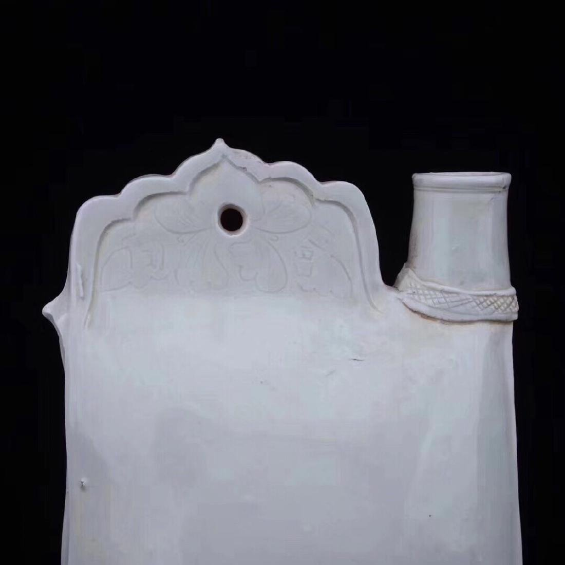 (920-1279)A DING KILN PORCELAIN GIRDER POT, - 3