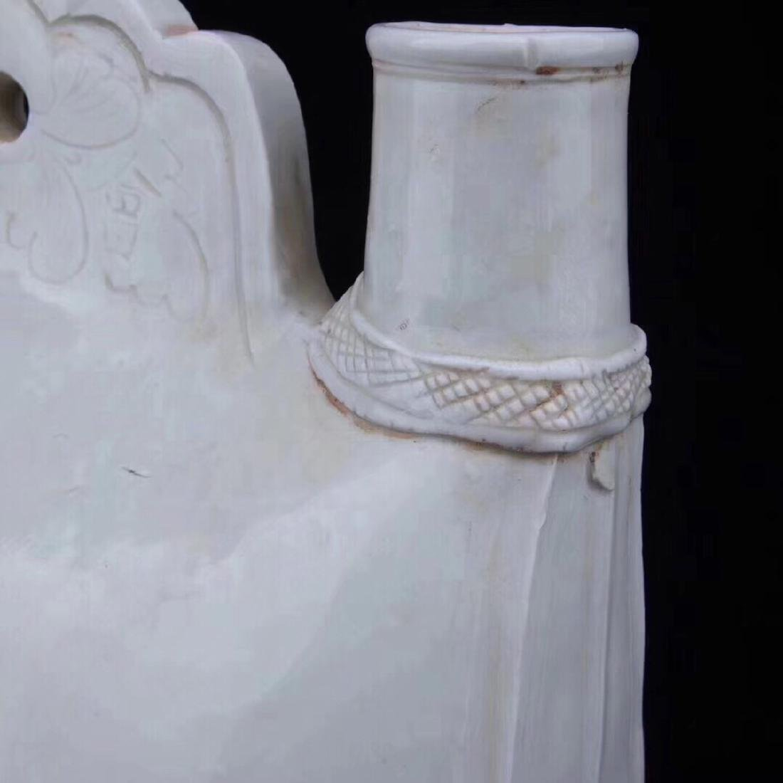 (920-1279)A DING KILN PORCELAIN GIRDER POT, - 5