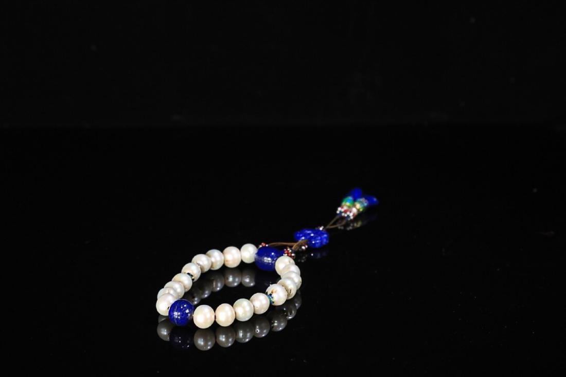 17-19TH CENTURY, AN OLD PEARL HAND PIECE, QING DYNASTY - 2