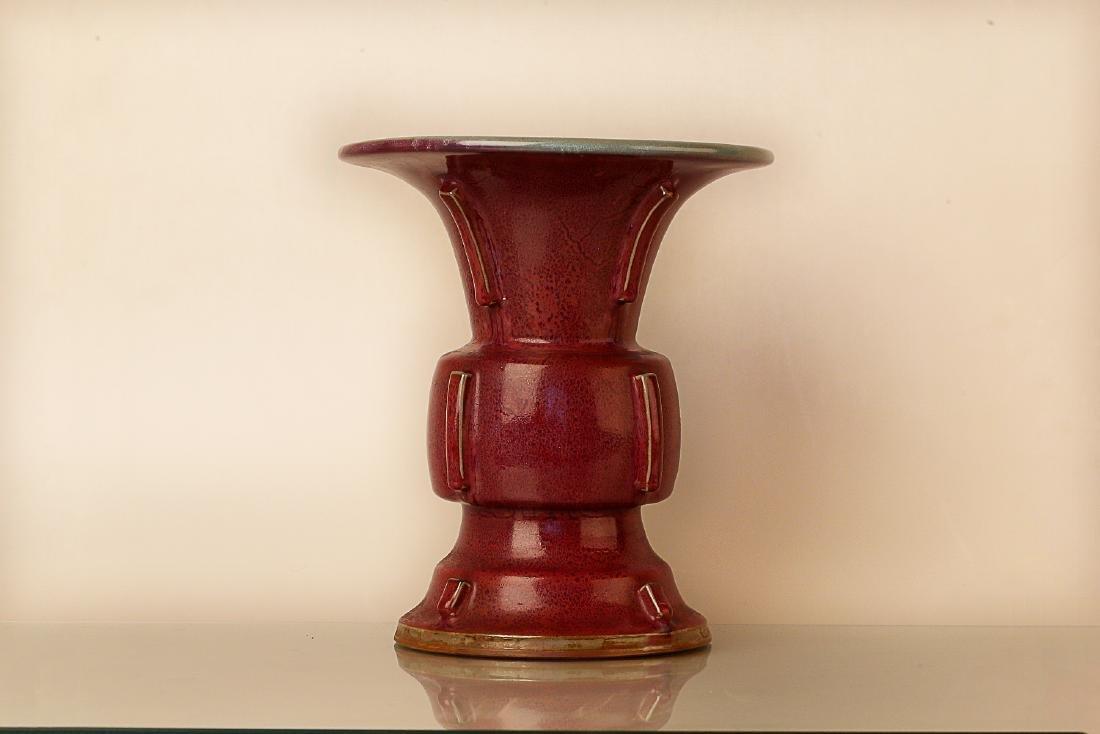 960-1279AD, JUN KILN, A ROSE PATTERN PURPLE
