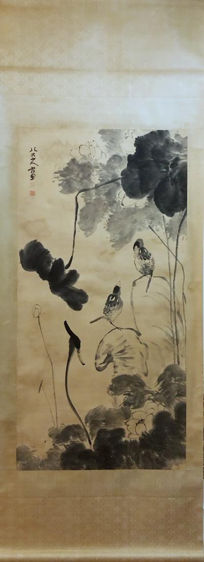 17-19TH CENTURY, DA ZHU BA DA SHAN REN    PEONY-TOPIC