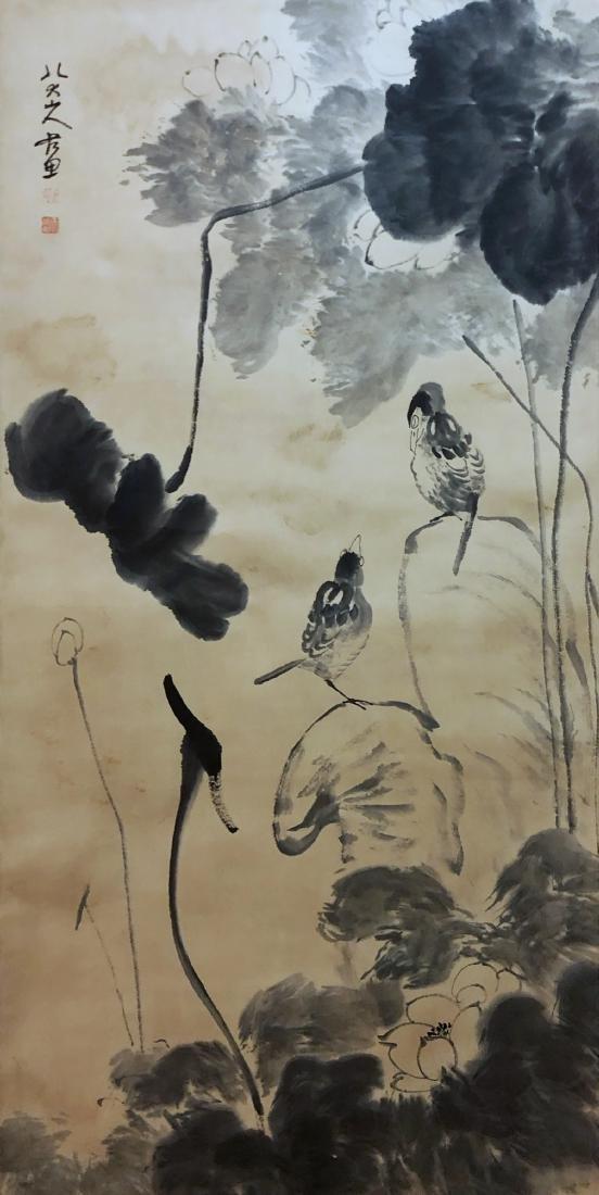 17-19TH CENTURY, DA ZHU BA DA SHAN REN    PEONY-TOPIC - 2