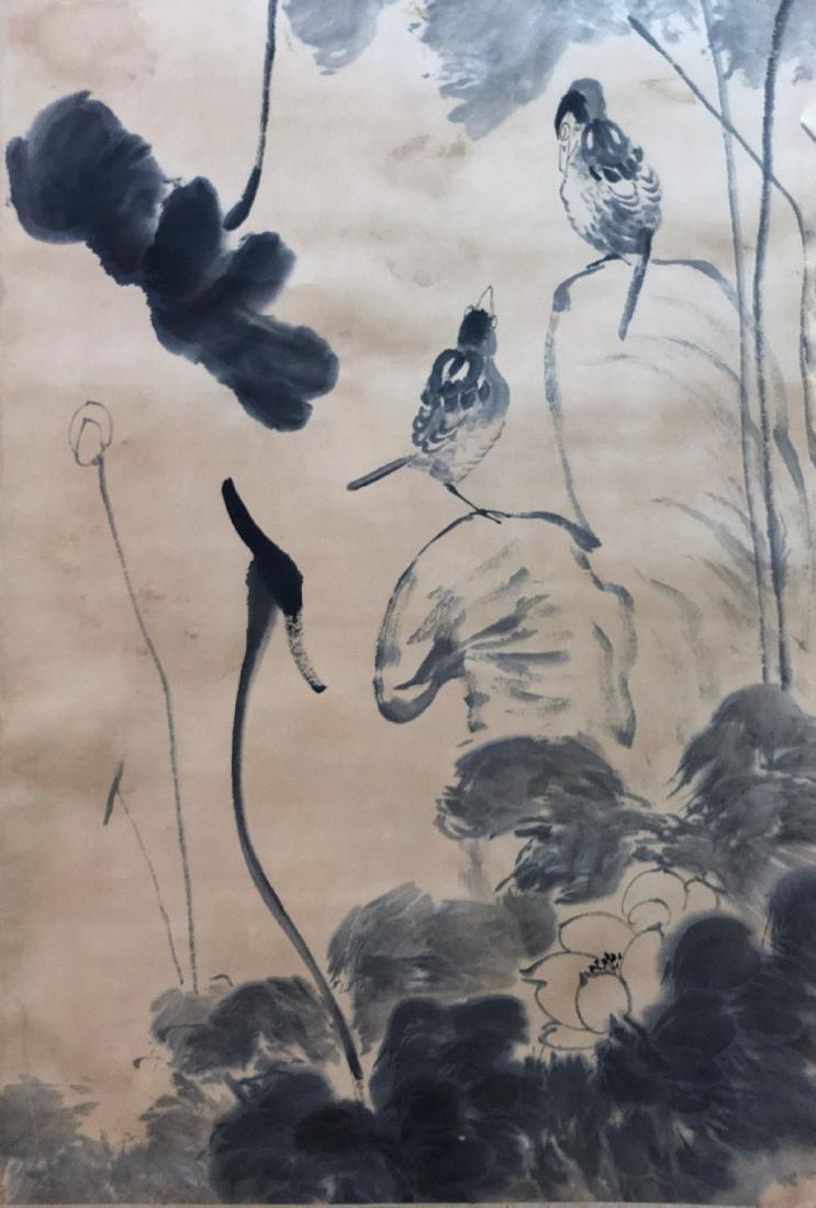 17-19TH CENTURY, DA ZHU BA DA SHAN REN    PEONY-TOPIC - 3