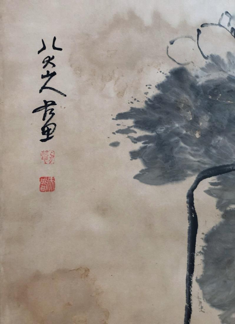 17-19TH CENTURY, DA ZHU BA DA SHAN REN    PEONY-TOPIC - 4