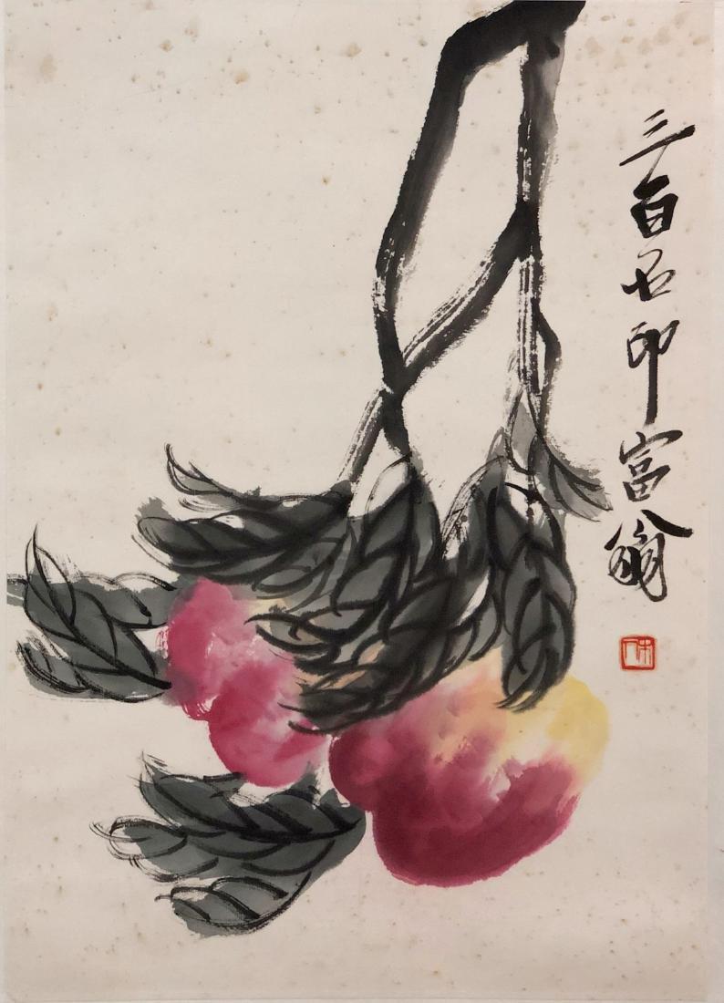 BAISHI QI   PEONY-TOPIC PAINTING - 2