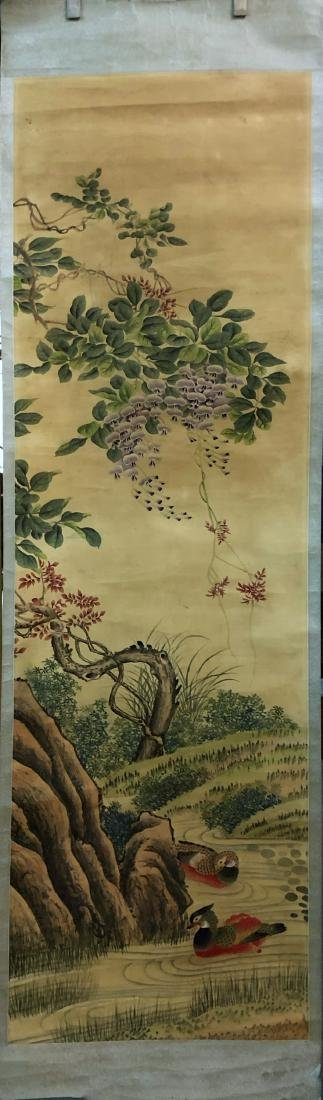 17-19TH CENTURY,  UNKNOW   PAINTING, QING DYNASTY