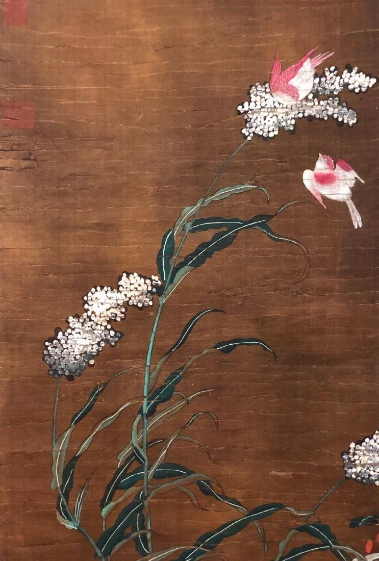 9-12TH CENTURY, DI LI    PEONY-TOPIC PAINTING , SONG - 3