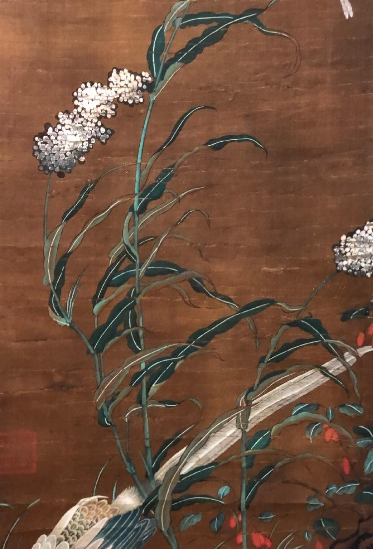 9-12TH CENTURY, DI LI    PEONY-TOPIC PAINTING , SONG - 4