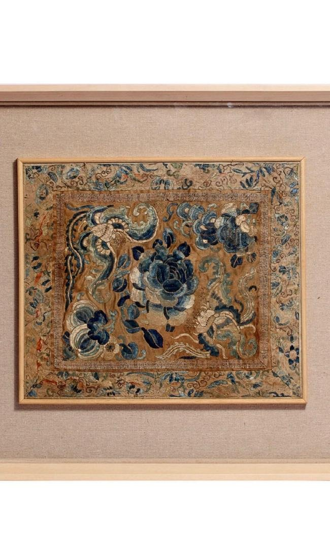 17-19TH CENTURY, A STORY DESIGN EMBROIDERY, QING - 2