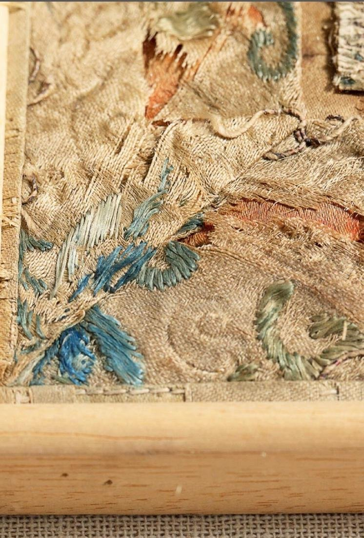 17-19TH CENTURY, A STORY DESIGN EMBROIDERY, QING - 6